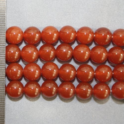 Agate Red Round 8mm