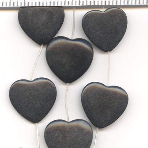 Black Stone Hearts 38mm