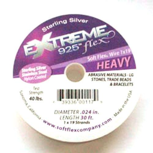 Sterling Silver Soft Flex Wire Heavy 30ft
