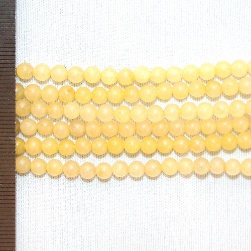 Jade Honey Round 4mm