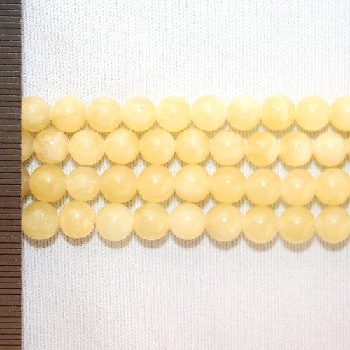 Jade Honey Round 6mm