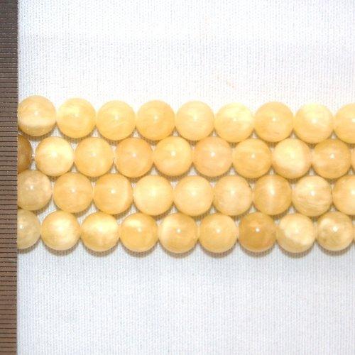 Jade Honey Round 8mm