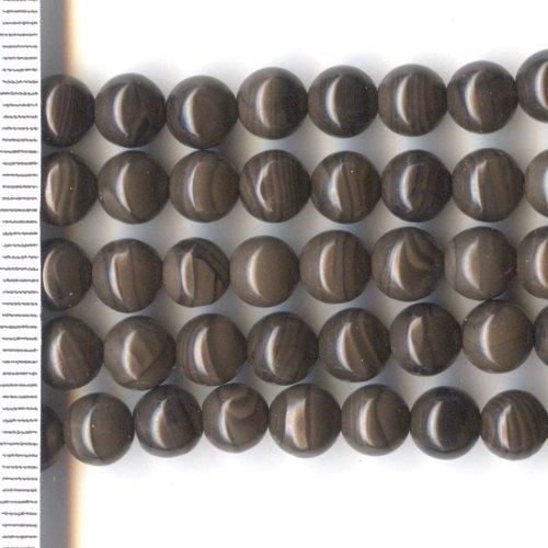 Chocolate Jasper Round 6mm