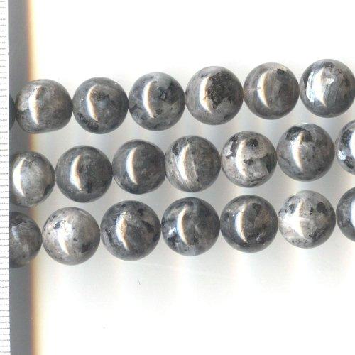 Labradorite Black Round 10mm