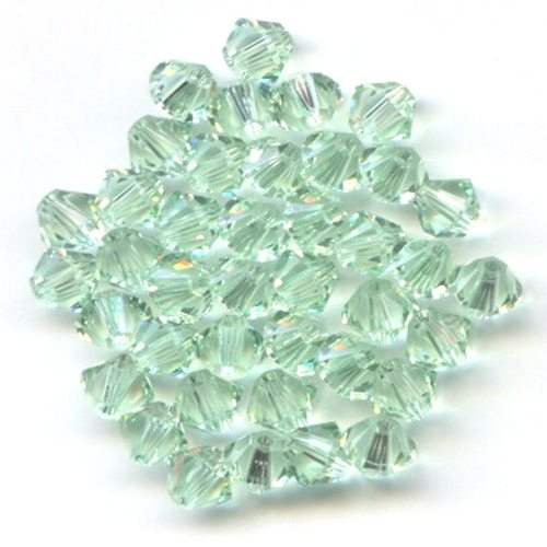 Swarvoski Crystal Chrysolite 4mm Bicone