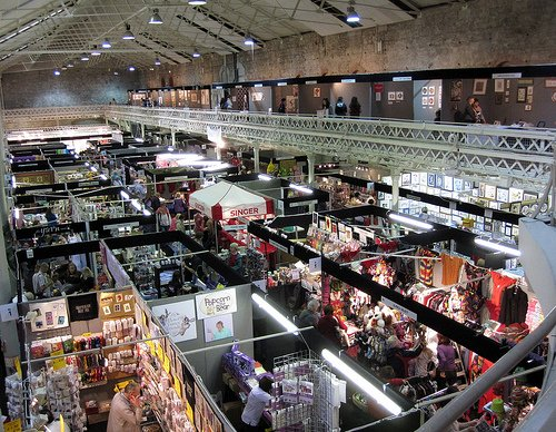 Knitting and Stitching Show.