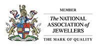 Member of The National Association of Jewellers - The mark of quality.