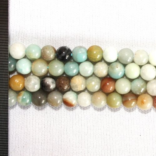 Amazonite Mix Round 6mm