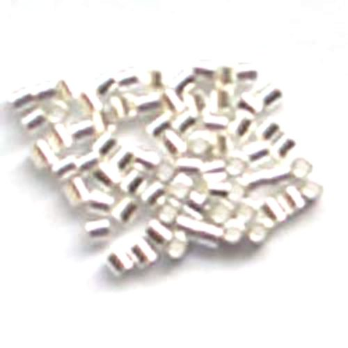 Sterling Silver Crimps 1.5x1.5mm