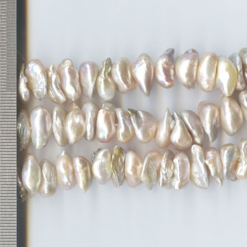 Biwa Pearls Natural 12-13mm