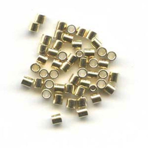 Gold Plated Sterling SIlver 2mm