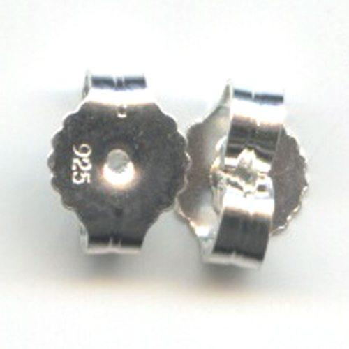 Sterling Silver Buuterflies 6mm