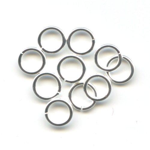 Sterling Silver Jump Rings 6.5mm
