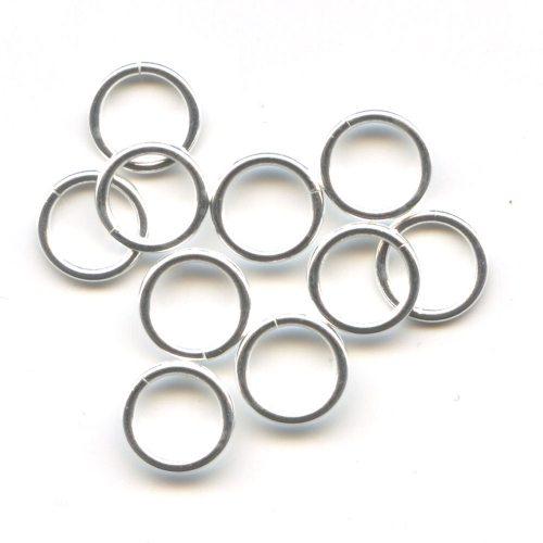 Sterling Silver Jump Rings 7.5mm