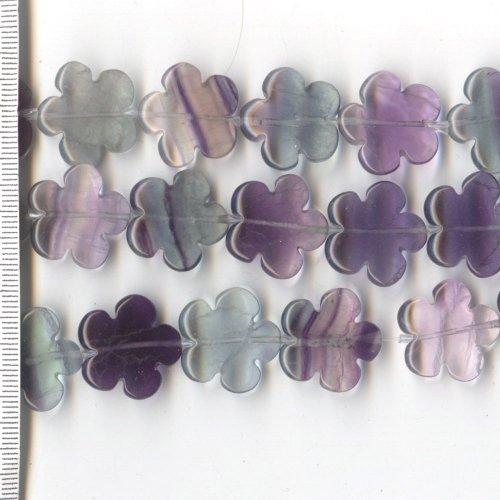 Fluorite Flowers 20mm