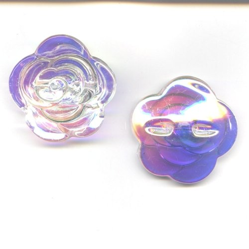 Glass Flower Opalescent