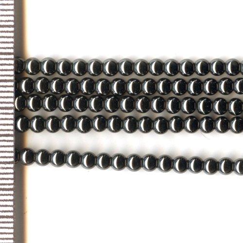 Hematite Black Round 3mm