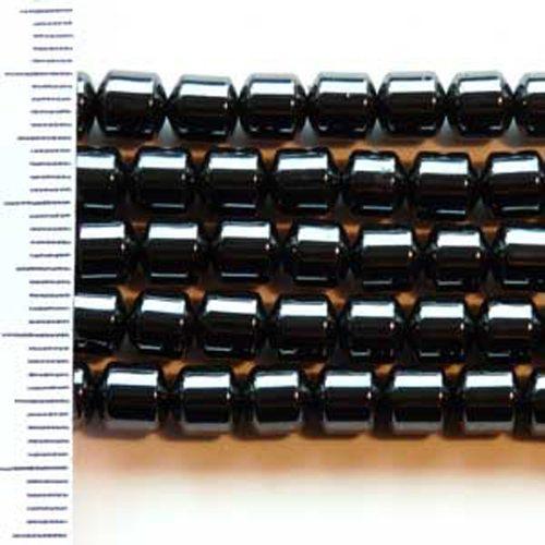 Hematite Drum 5x5mm