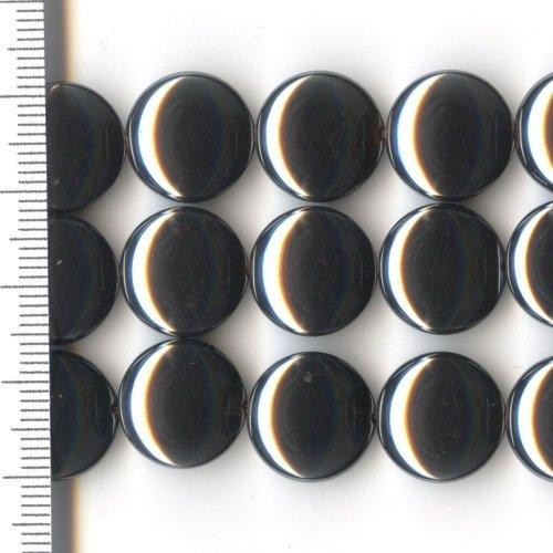 Hematite Coin 14mm
