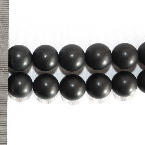 Onyx Frosted Round 14mm