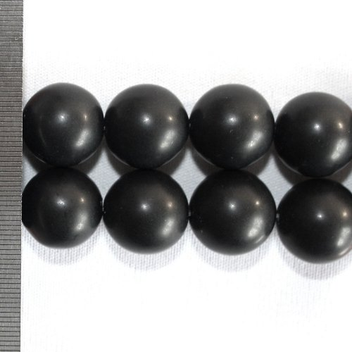 Onyx Frosted Round 18mm