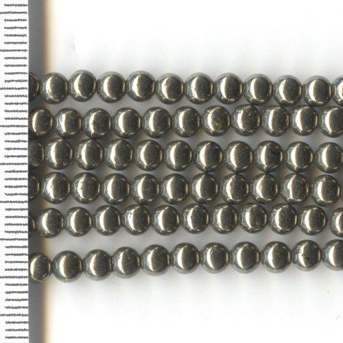 Pyrite Round 4mm