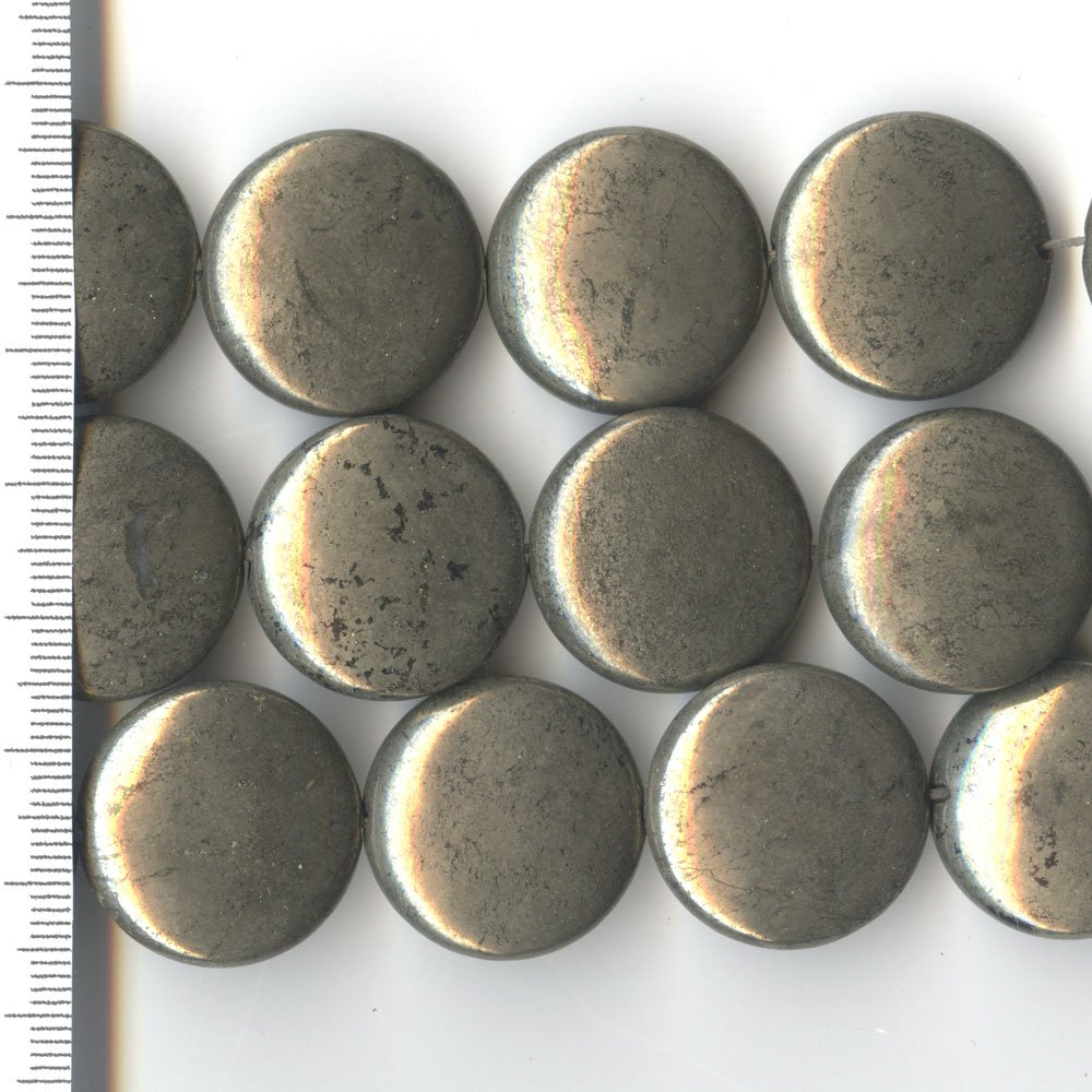 Pyrite Coin 22mm