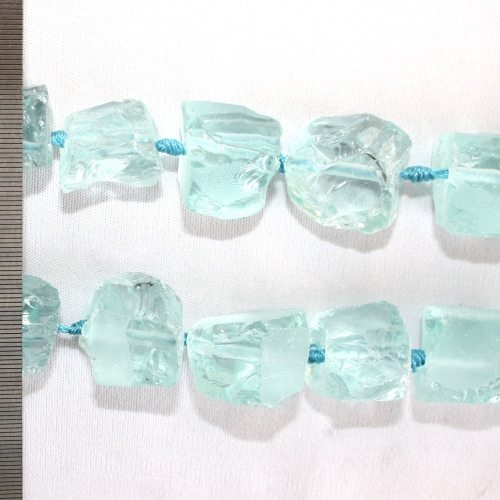 Sea Glass Large Rough Nuggets 20-24mm