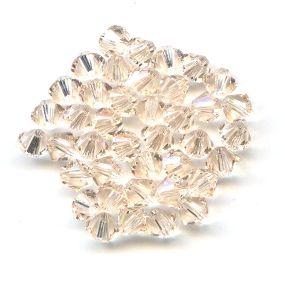 Swarvoski Crystal Silk AB 4mm