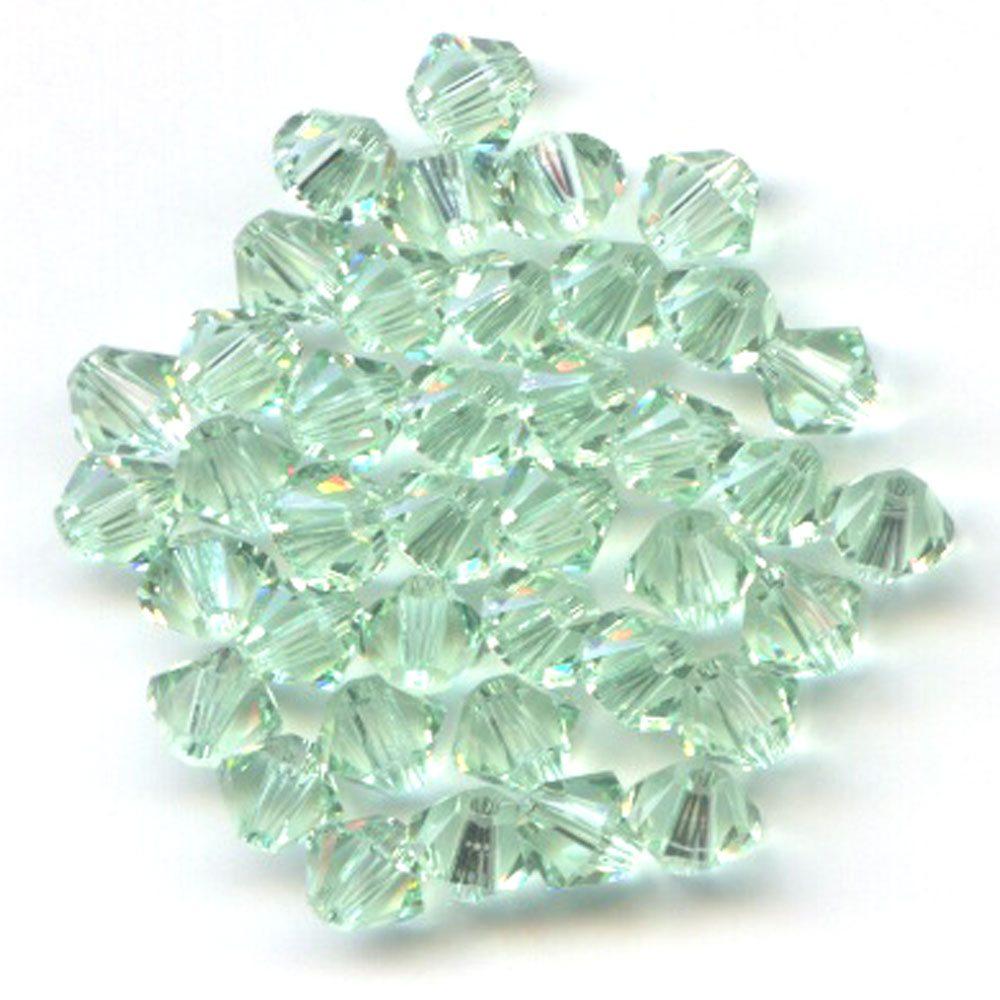 Swarvoski Crystal Chrysolite 4mm Bicone