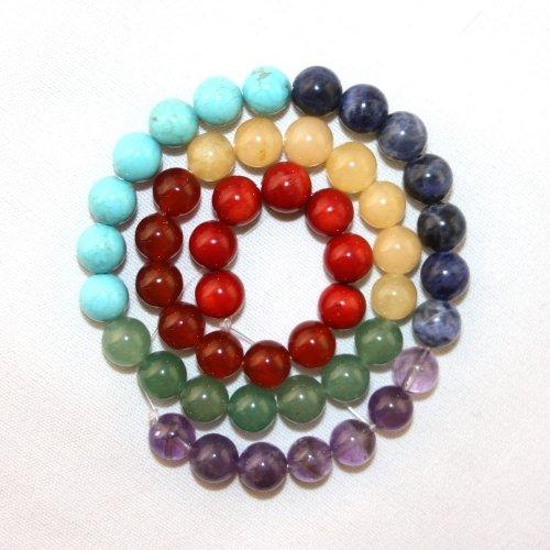 Chakra Beads Round 8mm