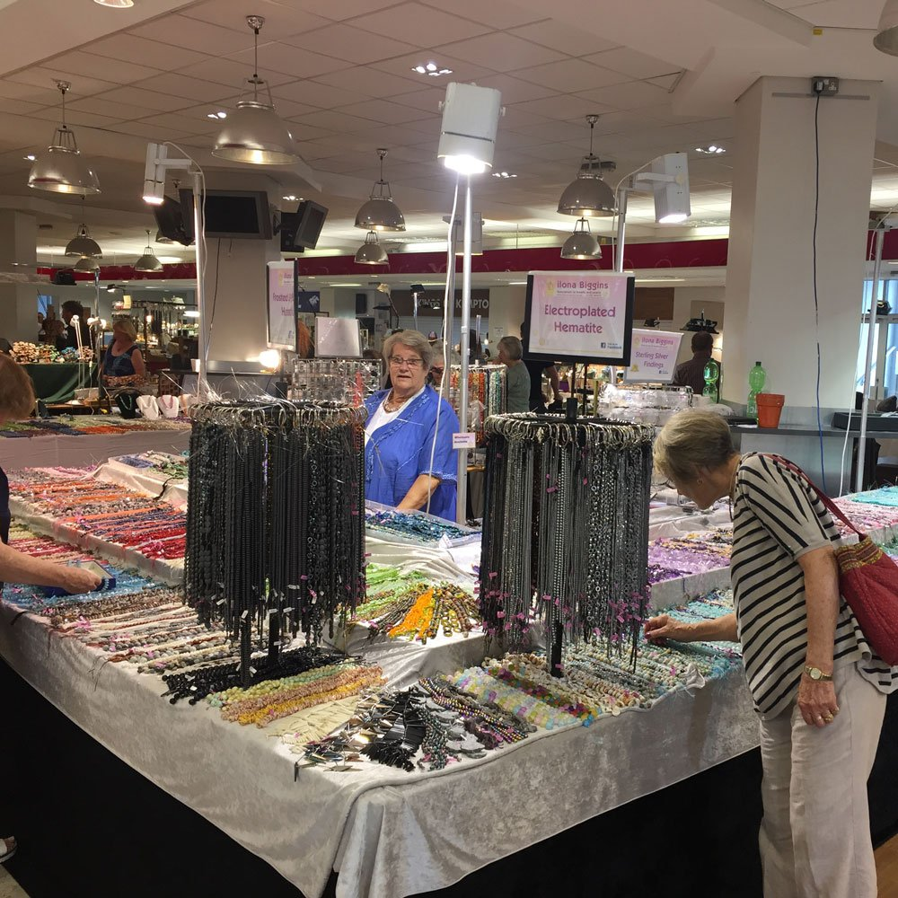 Rock, Gem 'n' Bead Show Kempton Park • Ilona Biggins Beads
