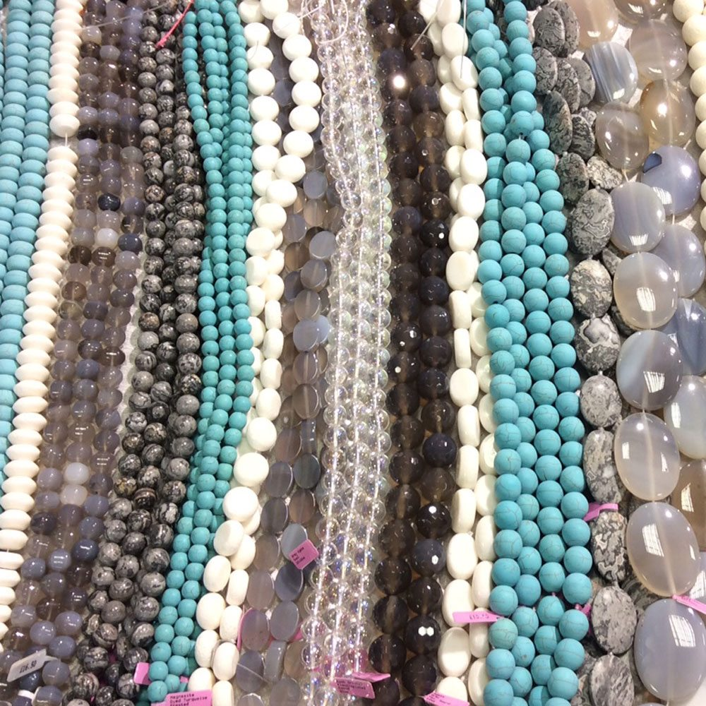Rock, Gem 'n' Bead Show Newark • Ilona Biggins Beads & Pearls